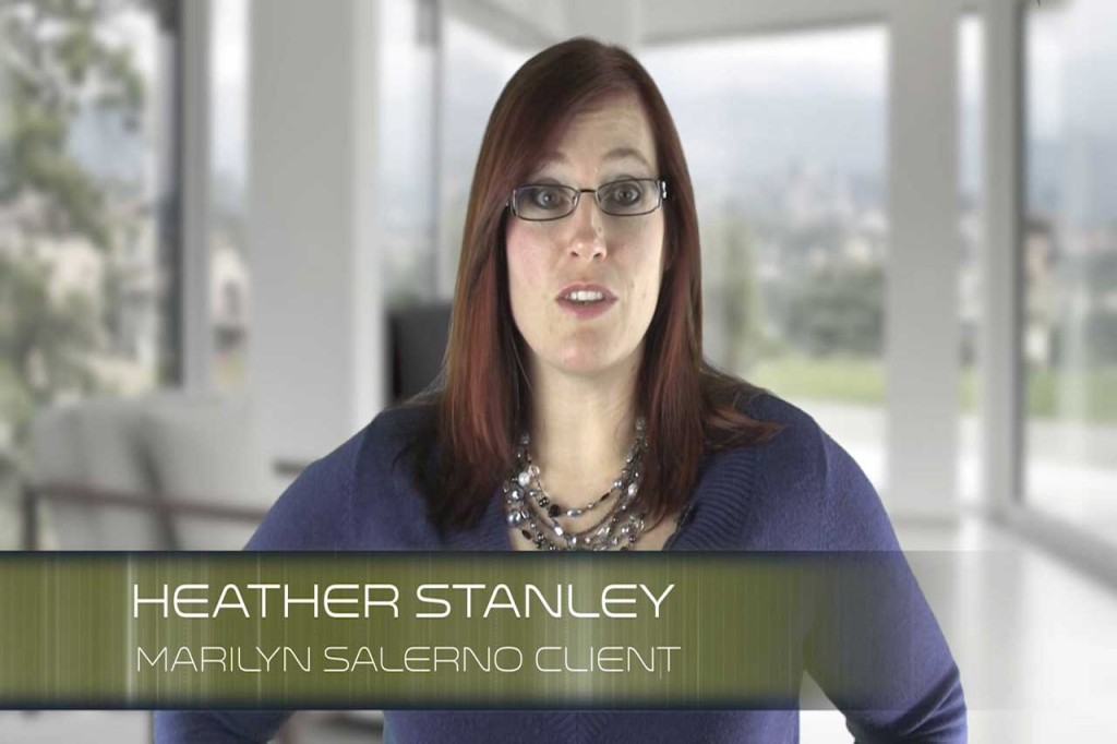 Heather-Stanley Marilyn Salerno Hypnosis Client