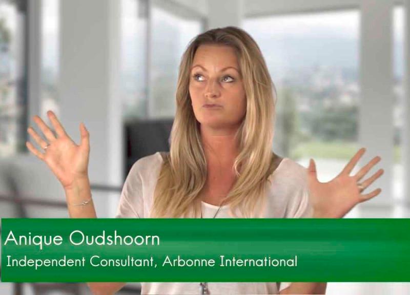 Anique Oudshoorn   Arbonne International Sales Consultant